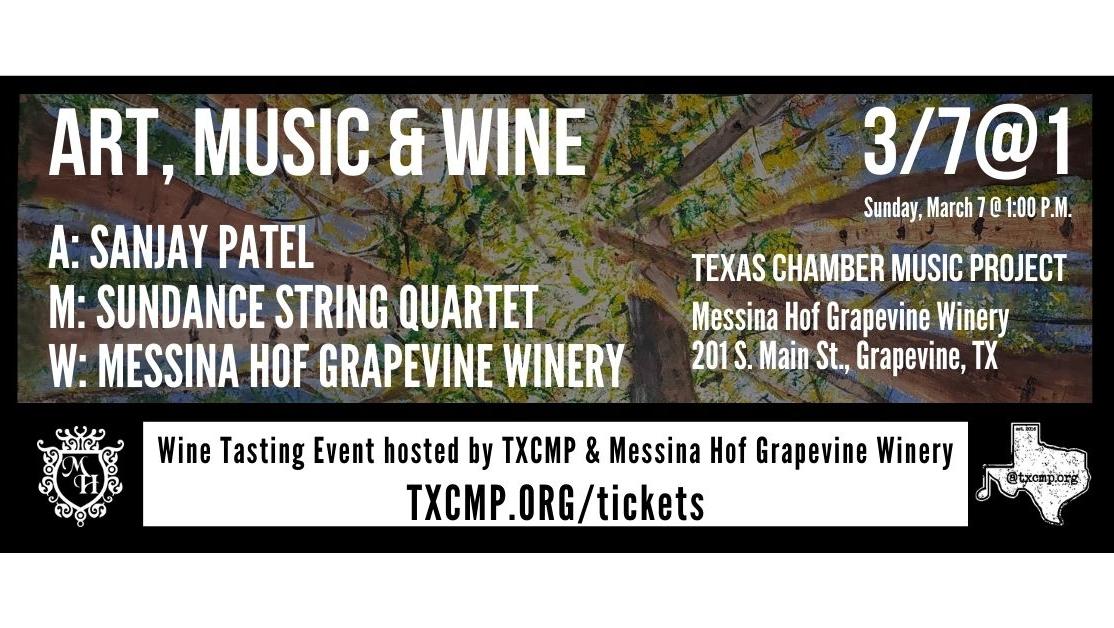 TXCMP Art, Music & Wine