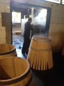Steam Bath prior to Bending